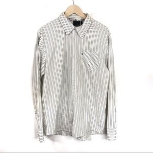 Hurley Striped Casual Button Down Shirt